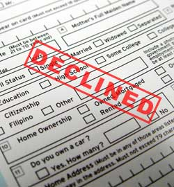 5 Reasons You Have Been Turned Down For a Loan | Talk Business