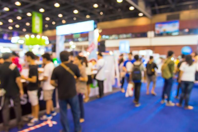 Exhibition Stand Freebies : Using digital marketing to attract customers your