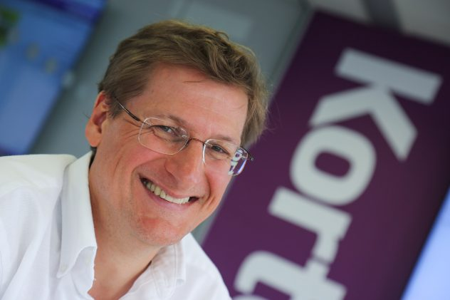 James Gray. CEO Kortext