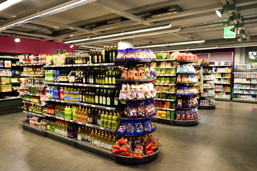 The Cornersupermarket Are Convenience Stores And Supermarkets Set