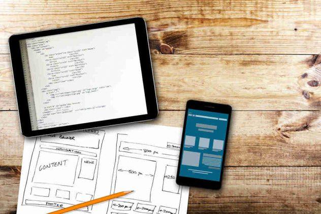 company's web design