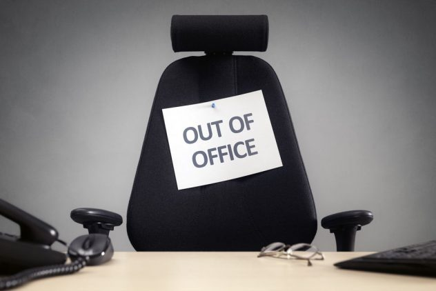 out of office email
