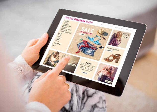 online digital shopfront