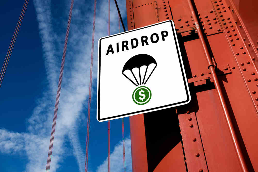 How to get free cryptocurrency with an airdrop | Talk Business