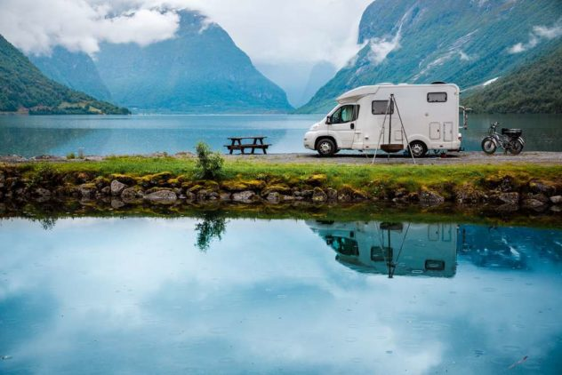 living and working in a motorhome
