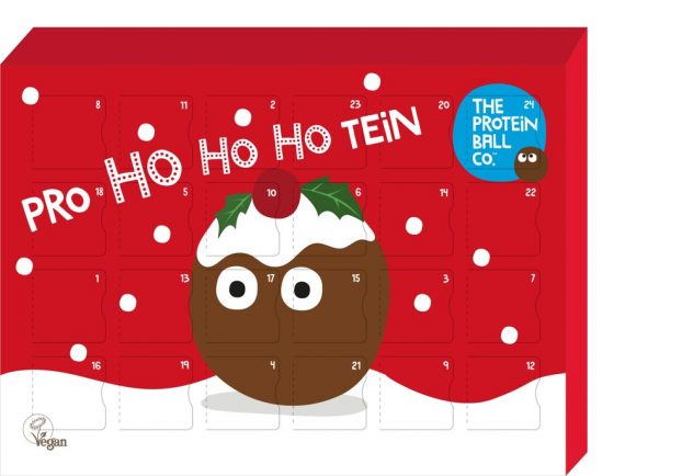 adult advent calendars 2019 protein ball