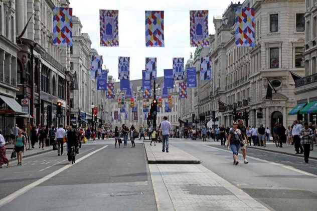 car-free streets