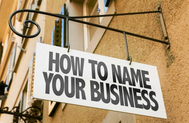 how to name your business or company