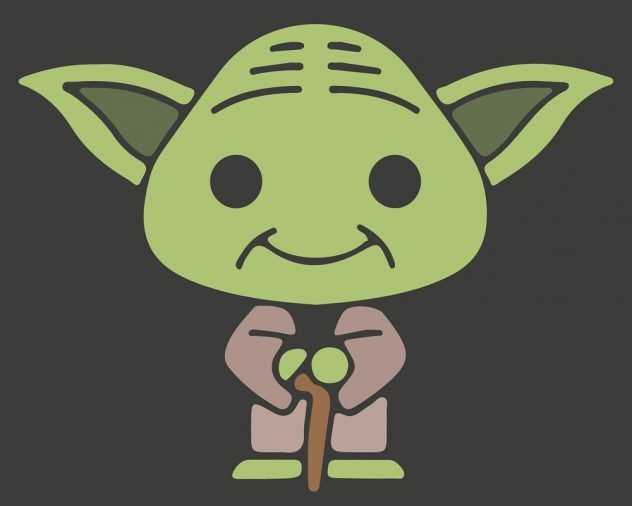 Yoda from the star wars movies