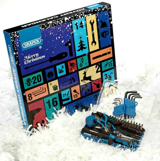draper tools advent calendars adults 2020