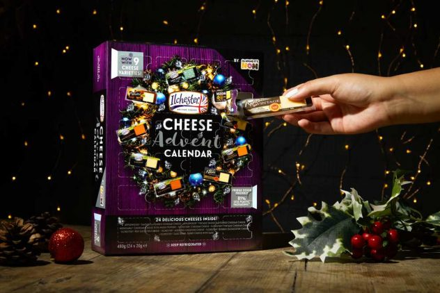 cheese advent calendars adults 2020