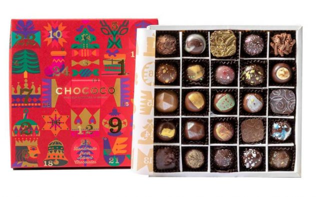 chococo advent calendars adults 2020