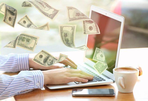 make money online using laptop