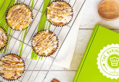 Win! A year's baking subscription from Bakedin