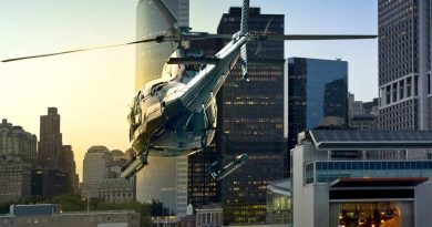 Style or saving time? The rise of the heli-commute