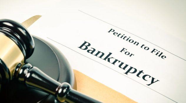 big businesses bankrupt
