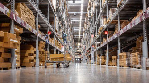 warehouse product range