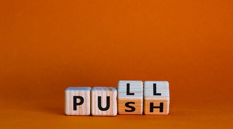 push pull marketing strategies