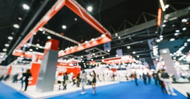 Business exhibition: How to set up a stall.