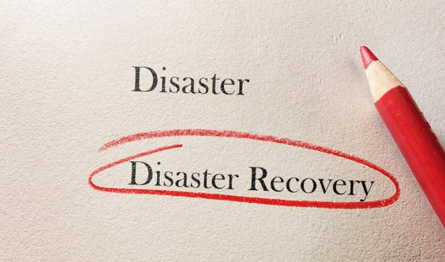 create disaster recovery plan